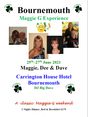 Bournemouth with Maggie & Dee